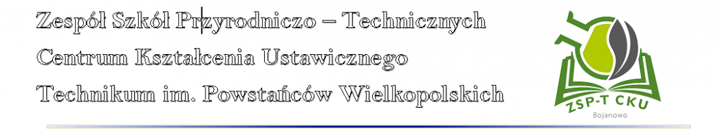 Zespół Szkół Przyrodniczo-Technicznych CKU w Bojanowie